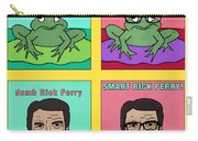 Dumb Rick Perry/smart Rick Perry Carry-all Pouch