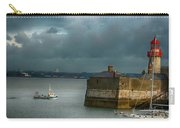 Dun Laoghaire Harbor Lighthouse Carry-all Pouch