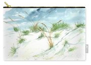 Dunes 3 Seascape Beach Painting Print Carry-all Pouch
