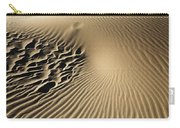 Dunes Footprints Carry-all Pouch