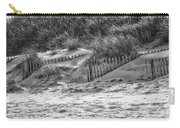 Dunes In Black And White Carry-all Pouch