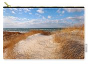 Dunes In Winter Carry-all Pouch