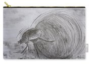 Dung Beetle Carry-all Pouch