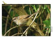 Dunnock In A Hedgerow Carry-all Pouch
