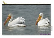 Duo Pelicans Carry-all Pouch
