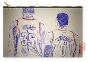 Durant And Westbrook Carry-all Pouch