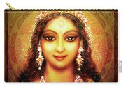 Durga In The Sri Yantra Carry-all Pouch