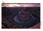 Dusk At Horeshoe Carry-all Pouch