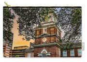 Dusk At Independence Hall Carry-all Pouch