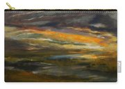 Dusk At The River Carry-all Pouch