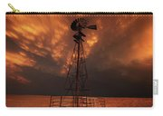 Dusk Down At The Mill Carry-all Pouch