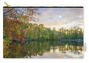Dusk On Autumn Lake  Carry-all Pouch
