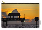 Dusk Over The Gulf Carry-all Pouch