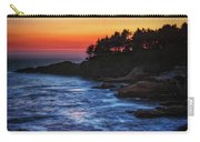 Dusk Stirred Depoe Bay Carry-all Pouch