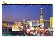 Dusk, The Strip, Las Vegas, Nevada, Usa Carry-all Pouch