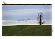 Dusk Tree And Birds Carry-all Pouch
