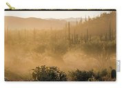Dust Storm In The Desert Carry-all Pouch