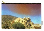 Dust Storm Over Joshua Tree Carry-all Pouch