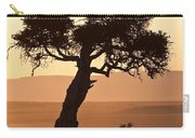 Dusty Sunset Over The Mara Carry-all Pouch