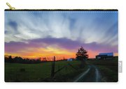 Dutch Lane In Evening Sky Carry-all Pouch