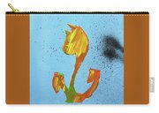 Dutch Pride Yellow And Orange Carry-all Pouch