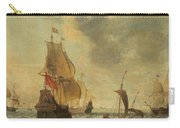 Dutch Ships In A Lively Breeze Carry-all Pouch