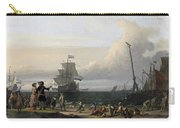 Dutch Ships In The Roads Of Texel Carry-all Pouch