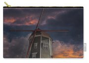 Dutch Windmill In Lynden Washington State At Sunset Carry-all Pouch