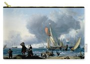 Dutchman Embarking Onto A Yacht Carry-all Pouch