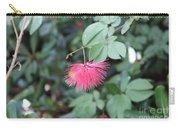 Dwarf Powder Puff Flower Carry-all Pouch
