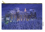 D.wiggett Banff Springs Hotel In Winter Carry-all Pouch