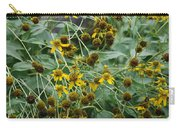 Dying Sun Flowers Carry-all Pouch