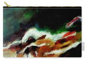 Dying Swan-abstract Carry-all Pouch