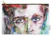 Dylan Thomas - Watercolor Portrait.5 Carry-all Pouch