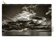 Dynamic Sunset - Sepia Carry-all Pouch