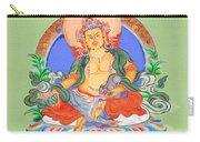 Dzambala The Buddha Of Wealth Carry-all Pouch