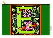 E In Green Carry-all Pouch