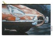 E-type Jaguar Carry-all Pouch