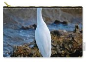 Eager Egret Carry-all Pouch