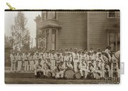Eagle Band's Drum Corps. Native Sons Of The Golden West  Circa 1908 Carry-all Pouch