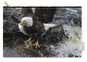 Eagle Catches Fish Carry-all Pouch