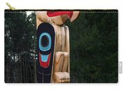 Eagle Clan Totem Pole Carry-all Pouch