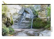 Eagle Cliff Falls Panorama Carry-all Pouch by William Norton