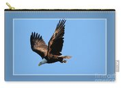 Eagle Encounter, Framed Carry-all Pouch