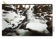 Eagle Falls Raging On Ice Carry-all Pouch