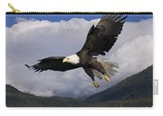 Eagle Flying In Sunlight Carry-all Pouch