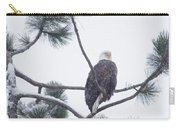 Eagle In A Pine Tree Carry-all Pouch