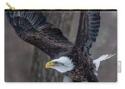 Eagle In The Forest Carry-all Pouch