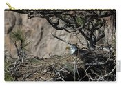 Eagle On The Nest, No. 3 Carry-all Pouch