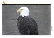 Eagle On The River Carry-all Pouch